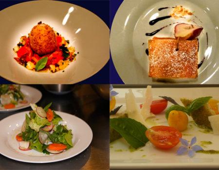 Impressionen aus der Küche von Espace Château DES