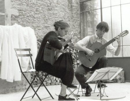Gitarrenkonzert unter der Verrière Espace Château DES