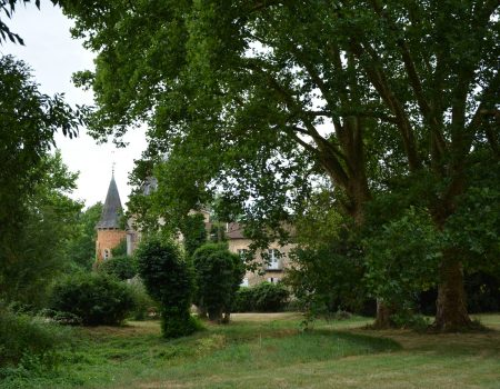 Ansicht von Norden von Espace Château DES
